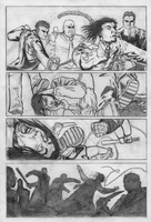 Crucifixion Story, Page 3 by DGanjamie