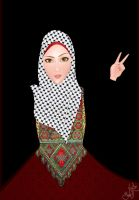 A Palestinian Girl :) by AlyaaSabbagh