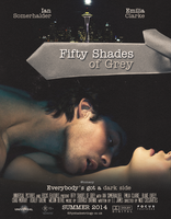 Fifty Shades Of Grey Movie Poster by PosterTheory