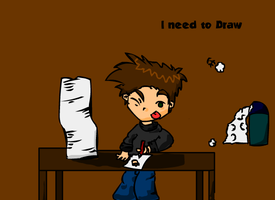 I need to Draw by Meatball-man