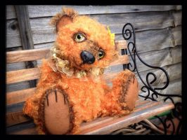 Ooak art bear Macie. by Fairykist