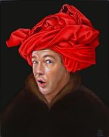 Self Portrait  Van Eyck by nitsud08
