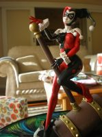 Figurine: Harley Quinn by evilfuzzle2