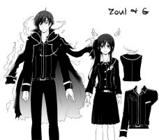 Zoul and G by LadyGreanlnw