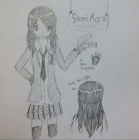 My Fanfic OC - Shiori Morie by abbey1010