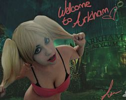 Welcome to Arkham by McLeea