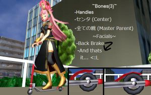 MMD Scooter Ver.2 DL by MiraMiraDance