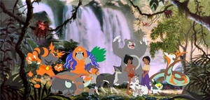 Mowgli and Shanti's Pokemon Team
