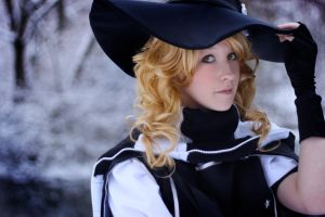 Touhou: Black and White by felixize