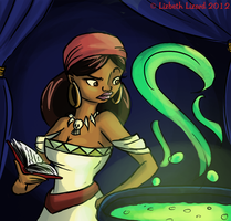 Contest: (Young) Voodoo Lady by LizbethLizard