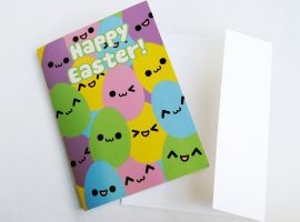 Easter Eggs Card by Strange-1