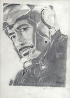 Iron Man by SKPartist