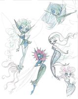 faeries I by fyre-flye