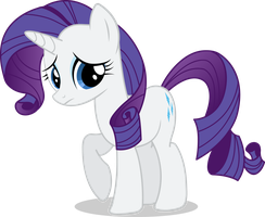 Rarity Vector #01 by simplyFeatherbrain