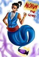 Norm the genie by MariVargas93
