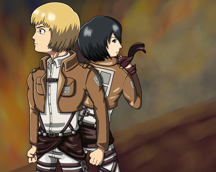 Attack On Titan by RT18