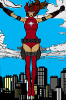 Crimson Valkyrie HM3 by Mad-Man-With-a-Pen by CrimsonVlkyrie