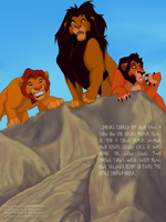 Mufasa, Ahadi and Taka by NewSea-ANother