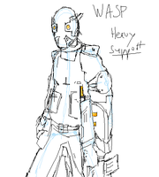 Wasp heavy support by Kyoushu0
