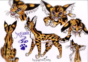 That's me as an african cat by YunakiDraw