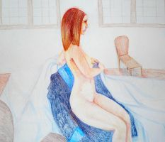 Another Figure Drawing by FaithlessIlladoreYou