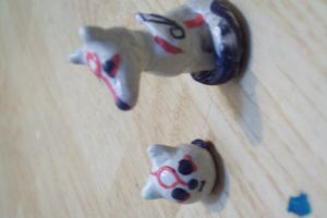 play dough amaterasu and chibi by ivyterasu