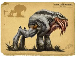 Tentacle Tusked Tumble Back by LyleMoore