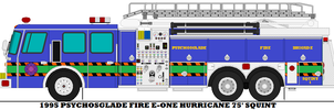 1995 Psychosglade Fire E-one Hurricane 75' Squint by mcspyder1