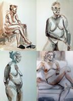 Live Model exercise by milesboard