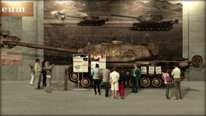 T5 Heavy Tank on Display by KevinTinierme
