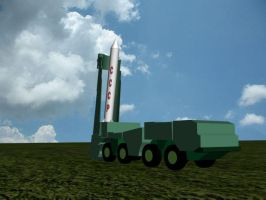 my MAZ 537 missile truck by eliteracer