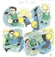 Leon VS Chris by Winick-Lim
