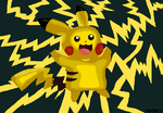 Pikachu by Hurricane-Lightning