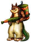 Dingodile by Lurking-Leanne