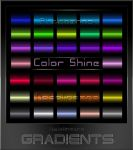 Color Shine  Gradients for Photoshop by Natalivesna