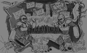 Megaman-We Are The dead by arvalis