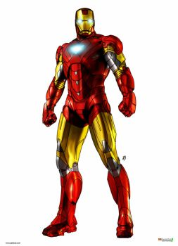 IRON MAN COLOR by patokali