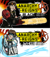SSoHPKC Title Card - Anarchy Reigns by IntroducingEmy