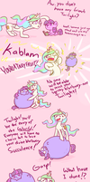 Celestia Helps Twilight Become Poplular by poptart36