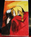 Edward Elric (Full Metal Alchemist) by Cane-the-artist