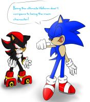 Sonic is better than Shadow. by 5catsonebowl