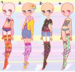Adorable Outfit Point Adopts 2/4 by Tr1nks1e