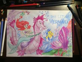 The Little Mermaid by milasun