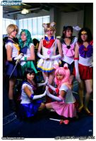 Sailor Scouts Cosplay by konohanauzumaki