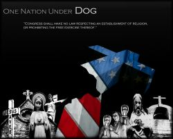 One Nation Under DOG by Now-Entering-Cyberia