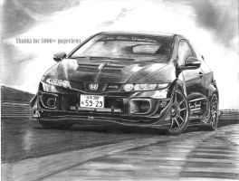 Honda Type-R by mehmetmumtaz