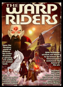 Warp Riders by ChadGrimm