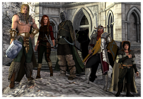 The Companions of the Hall by DrowElfMorwen