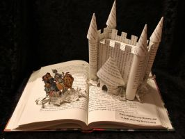Welcome to Oz Book Sculpture by wetcanvas