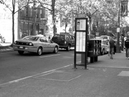 Bus stop by Guardian0660